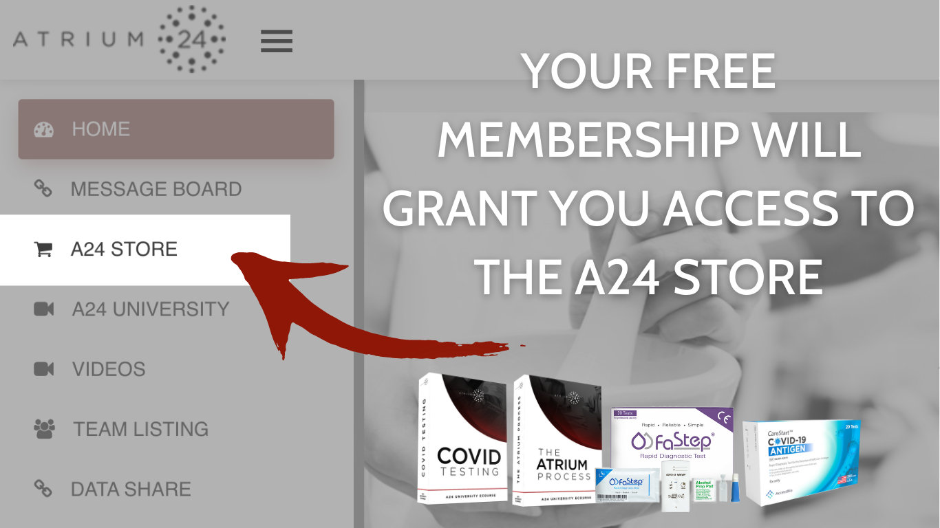 Purchase Products from the A24 Store inside of our Portal